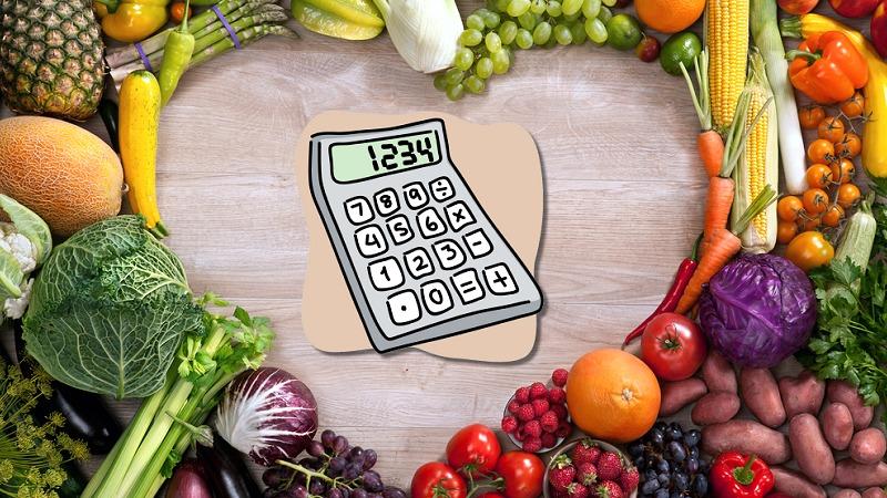 prehranski kalkulator