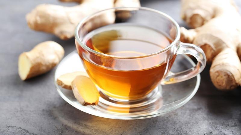 ingverjev čaj