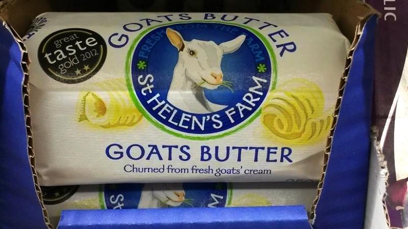 kozje maslo